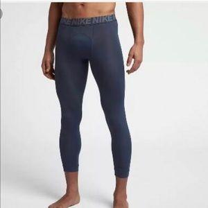 Men's Nike 3/4 Training Tights AJ1685 471 NWT  M